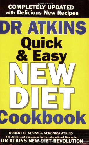 Dr. Atkins' New Diet Cookbook.