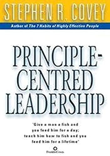 9780743468602: Principle Centred Leadership