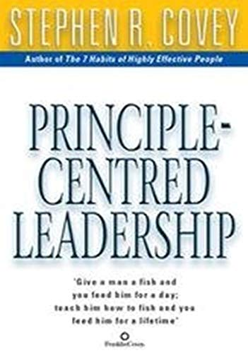 9780743468602: Principle Centered Leadership