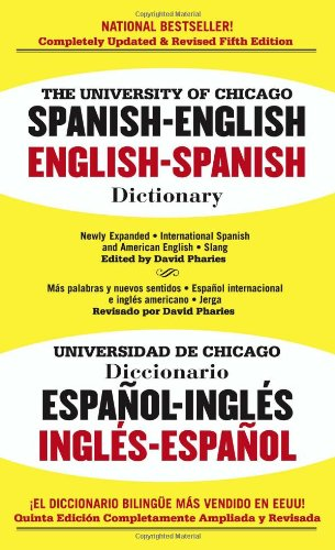 9780743470131: The University of Chicago Spanish-English Dictionary, Fifth Edition
