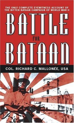 9780743474504: Battle for Bataan: An Eyewitness Account