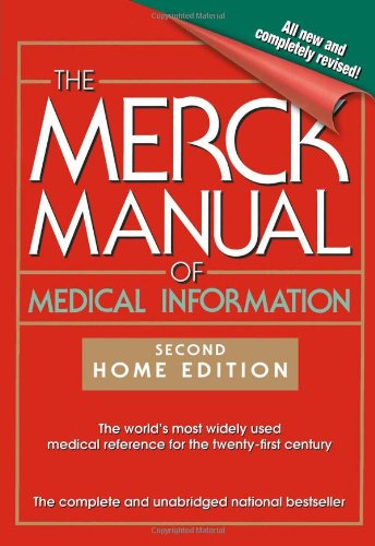 9780743477338: The Merck Manual of Medical Information: Home Edition