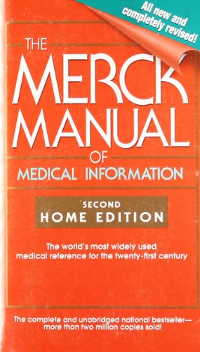 9780743477345: The Merck Manual of Medical Information: Second Home Edition (Merck Manual of Medical Information, Home Ed.)