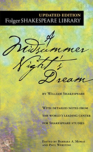 9780743477543: A Midsummer Night's Dream (Folger Shakespeare Library)