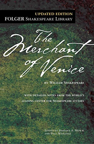 9780743477567: The Merchant of Venice (Folger Shakespeare Library)