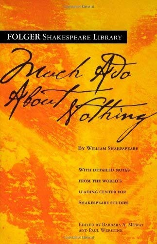 9780743482752: Much ADO about Nothing (Folger Shakespeare Library)