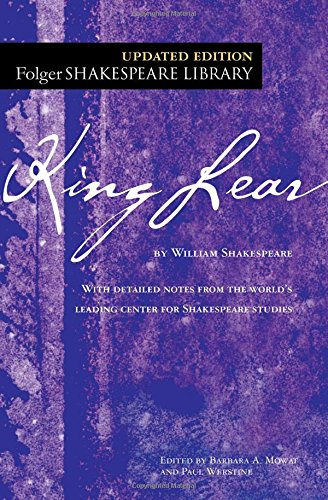 9780743482769: King Lear (The New Folger Library Shakespeare)