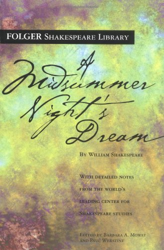 9780743482813: A Midsummer Night's Dream (Folger Shakespeare Library)