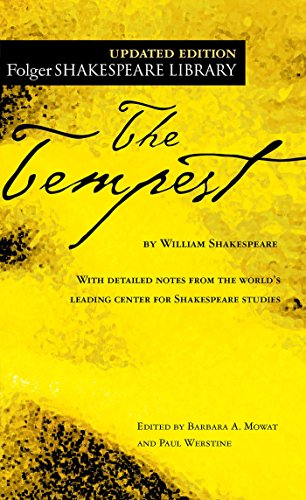 9780743482837: The Tempest (New Folger Library Shakespeare)