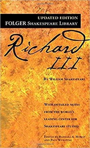 Richard III (Folger Shakespeare Library): Shakespeare, William