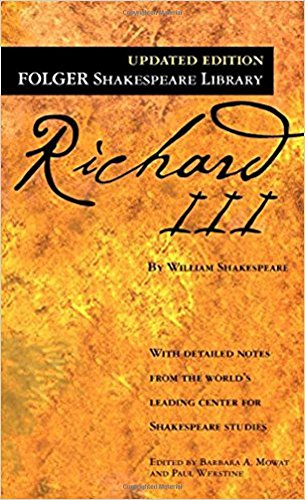 9780743482844: Richard III (Folger Shakespeare Library)