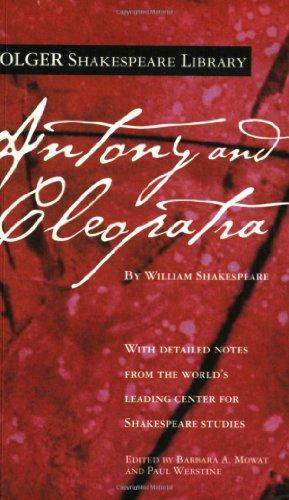 9780743482851: Antony and Cleopatra (Folger Shakespeare Library)