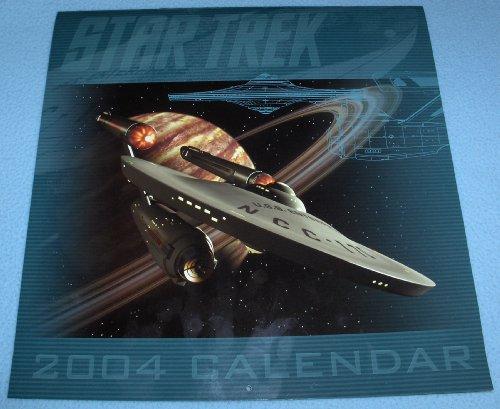 9780743483148: Star Trek: TOS 2004 Calendar