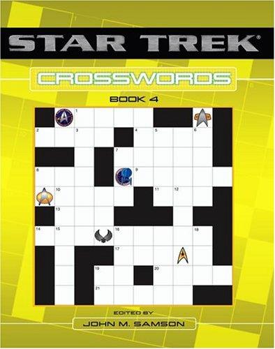 9780743484824: Star Trek Crosswords Book 4 (Star Trek (Numbered Paperback)) (v. 4)
