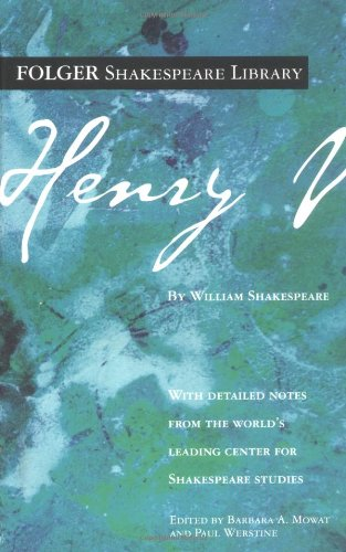 9780743484879: Henry V (Folger Shakespeare Library)