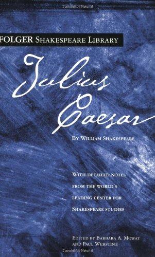 9780743484930: Julius Caesar (Folger Shakespeare Library)