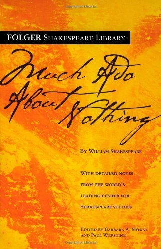 9780743484947: Much Ado About Nothing (Folger Shakespeare Library)