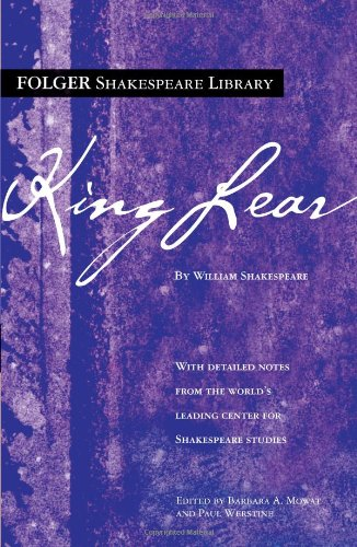 9780743484954: King Lear (Folger Shakespeare Library)