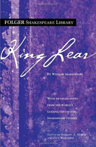 9780743484954: King Lear (Folger Shakespeare Library)