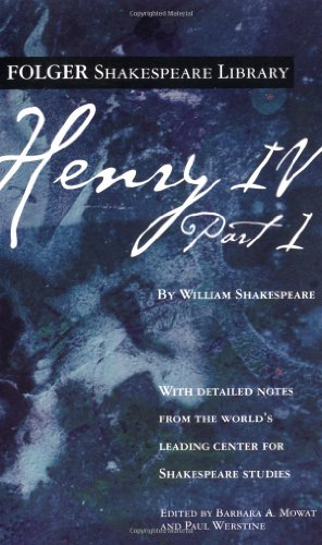 9780743485043: Henry IV, Part 1 (Folger Shakespeare Library)