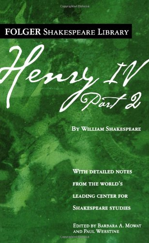 9780743485050: Henry IV, Part 2 (Folger Shakespeare Library)
