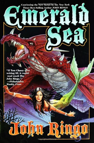 Emerald Sea 9780743488334 The fast-paced sequel to There Will be Dragons is a rollicking adventure above and below the high seas with dragons, orcas, beautiful me