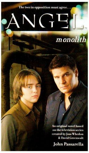 9780743492355: Monolith (Angel)