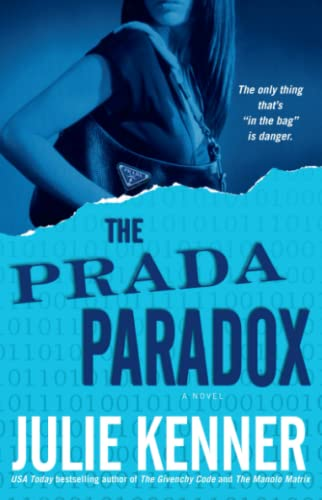 The Prada Paradox 9780743496155 USA Today bestselling author Julie Kenner follows up her acclaimed thrillers The Givenchy Code and The Manolo Matrix with a whip-smart new adventure in code-breaking -- Hollywood-style! Devi Taylor was one of Hollywood's fastest-rising starlets -- until a crazed fan held her at knifepoint and she retreated to a life of privacy and Valium. Now recovered and ready for a comeback, Devi dreams of endorsing all things Prada, whose Rodeo Drive store she can't resist. Instead, she lands the starring role in The Givenchy Code, a high-budget action-adventure flick. But with the tabloids all over Givenchy and her recent split with her drop-dead handsome costar, Blake, Devi can't shake the feeling that another crazed fan is going to strike. Then a frightening message --  Play or Die  -- is delivered to Devi's house, and she finds herself sucked into a deadly and cryptic game not unlike the one in the movie she's starring in. Hollywood has always been her life, but does Devi know its secrets well enough to follow the cinematic clues that might save her and her favorite Prada bag? Julie Kenner is the author of two previous novels in this series,The Givenchy Code and The Manolo Matrix, both available from Downtown Press. Her novel Aphrodite's Kiss was a USA Today bestseller, and Carpe Demon: Adventures of a Demon-Hunting Soccer Mom was a Book Sense Summer Paperback Pick. Her other acclaimed novels include Nobody But You and The Spy Who Loves Me. She lives in Georgetown, Texas, with her husband and daughter.