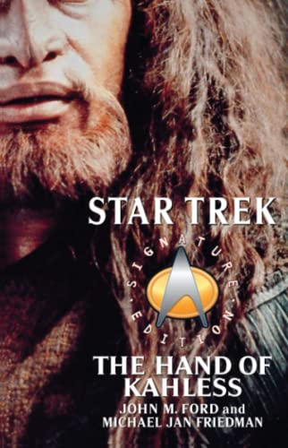 9780743496599: The Star Trek: Signature Edition: The Hand of Kahless (Star Trek: The Next Generation)