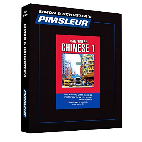 Pimsleur Chinese (Cantonese): Pimsleur