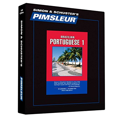 9780743500197: Portuguese (Brazilian) I: Learn to Speak and Understand Portuguese with Pimsleur Language Programs, 2nd Revised Edition (Comprehensive)
