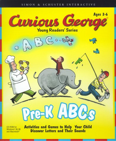 9780743503822: Curious George's ABCs: For Pre-K