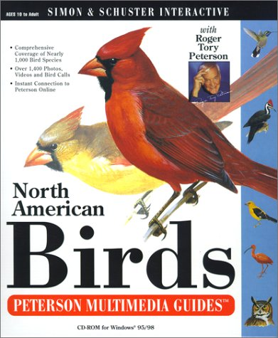 9780743503860: North American Birds: A Peterson Multimedia Guide