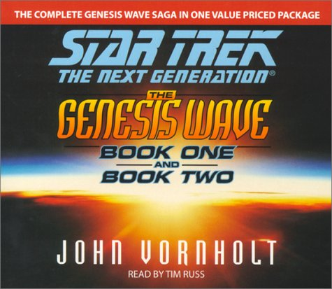 9780743504881: The Genesis Wave, Book 1 and 2 (Star Trek: The Next Generation)