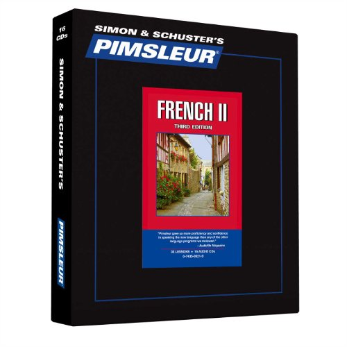9780743506212: Pimsleur French Level 2 CD: Learn to Speak and Understand French with Pimsleur Language Programs