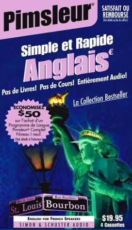 English for French Speakers: Learn to Speak and Understand English as a Second Language with Pimsleu