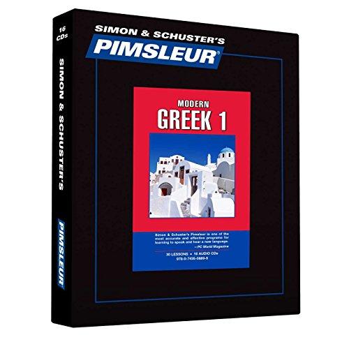 9780743508896: Pimsleur Language Program: Greek