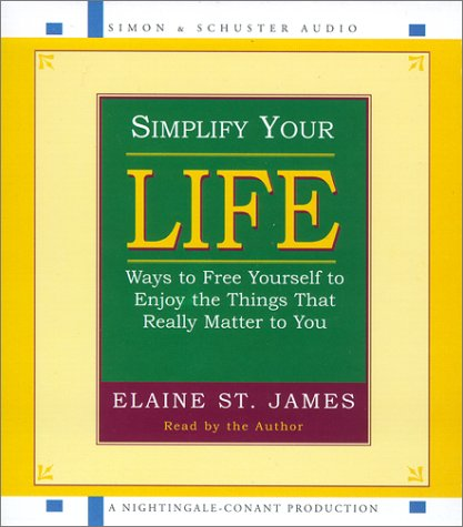 Simplify Your Life (0743509412) by St. James, Elaine