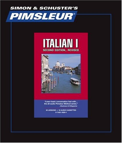 9780743518284: Italian I, Comprehensive: Learn to Speak and Understand Italian with Pimsleur Language Programs