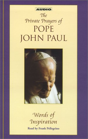 9780743520744: 1: The Private Prayers of Pope John Paul : Words of Inspiration