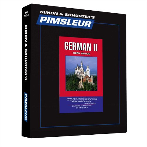 9780743523493: Pimsleur German Level 2 CD: Learn to Speak and Understand German with Pimsleur Language Programs (Comprehensive)