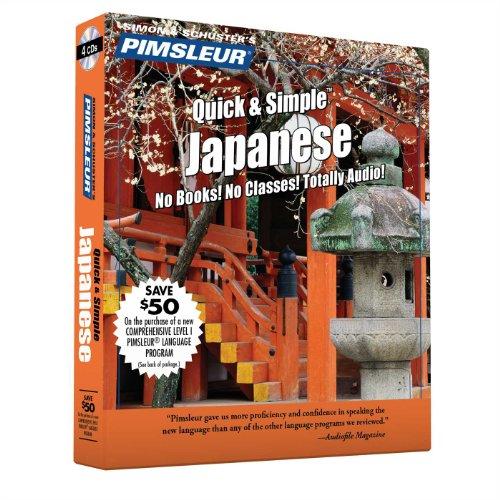 Pimsleur Japanese Quick Simple Course: Lessons 1-8: Pimsleur Language Programs