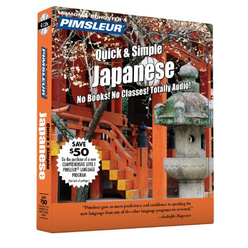 9780743523516: Pimsleur Quick & Simple Japanese