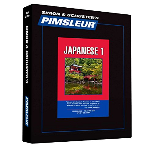 9780743523530: Pimsleur Japanese Level 1 CD: Learn to Speak and Understand Japanese with Pimsleur Language Programs (Comprehensive)