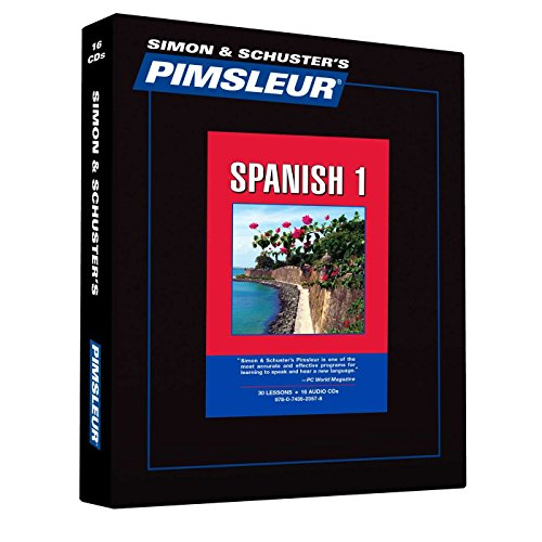 9780743523578: Pimsleur Spanish Level 1 CD: Learn to Speak and Understand Latin American Spanish with Pimsleur Language Programs (Comprehensive) (English and Spanish Edition)