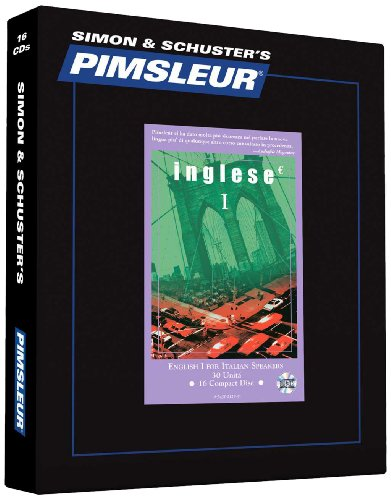 9780743525299: Pimsleur English for Italian Level 1 CD: Learn to Speak and Understand English as a Second Language with Pimsleur Language Programs (Comprehensive)