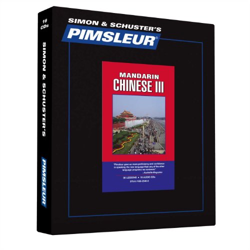 9780743525466: Chinese (Mandarin) III, Comprehensive: Learn to Speak and Understand Mandarin Chinese with Pimsleur Language Programs