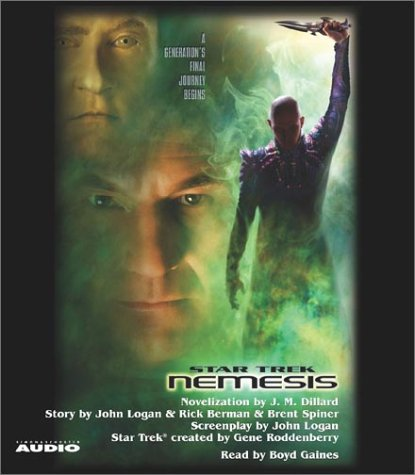 Star Trek: Nemesis Movie-Tie In (Star Trek Classics) (0743526899) by J.M. Dillard