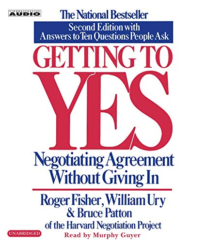 9780743526937: Getting to Yes: How To Negotiate Agreement Without Giving In