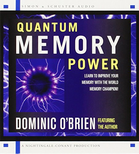 9780743528665: Quantum Memory Power: Learn to Improve Your Memory with the World Memory Champion!
